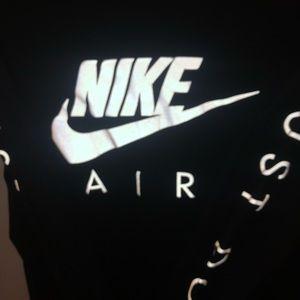 Shirts - Long sleeve men's reflective Nike shirt